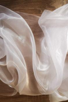 Saténová organza biela - White širky 47cm - evkakvety-eshop.eu