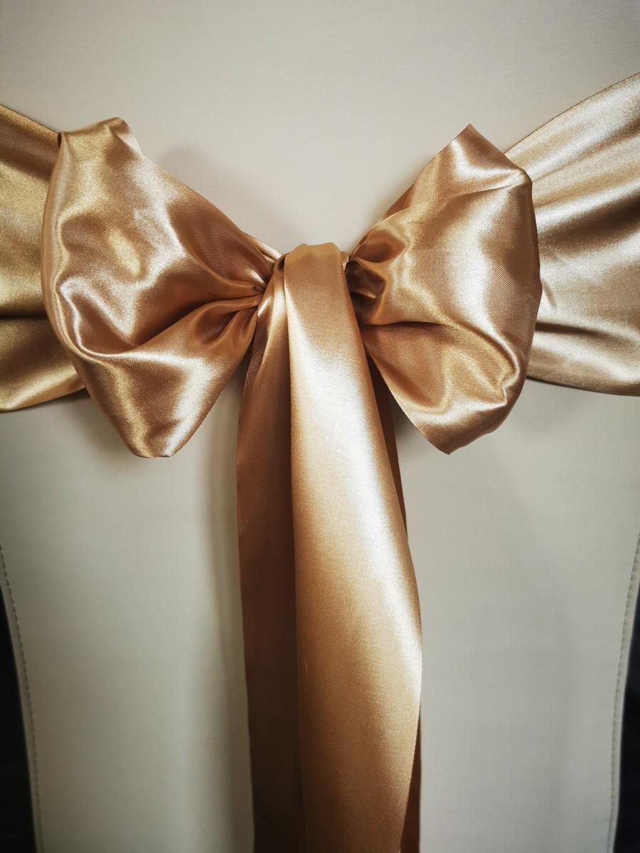 Satén - Zlatá - Gold - 15,5cm - evkakvety-eshop.eu