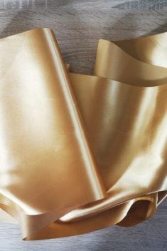Satén - Zlatá - Gold - 31cm - evkakvety-eshop.eu