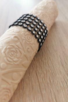 Reliéfne servítky béžové - Beige 33x33cm - evkakvety-eshop.eu