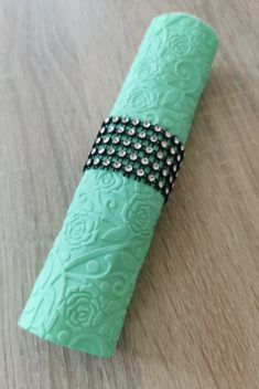 Reliéfne servítky mentolovozelené - Mint 33x33cm - evkakvety-eshop.eu