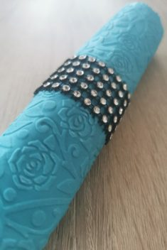 Reliéfne servítky svetlomodré - Light Blue 33x33cm - evkakvety-eshop.eu