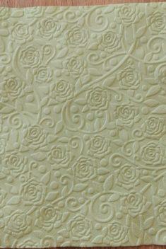 Reliéfne servítky svetlozelené - Pale Green 33x33cm - evkakvety-eshop.eu