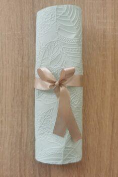 Reliéfne servítky svetlomodré - Baby Blue 33x33cm - evkakvety-eshop-eu