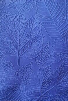 Reliéfne servítky kobaltovomodré - Cobalt Blue 33x33cm - evkakvety-eshop.eu