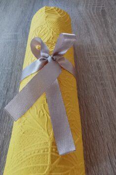 Reliéfne servítky slnečnicovožlté - Sunflower Yellow 33x33cm - evkakvety-eshop.eu