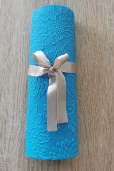 Reliéfne servítky tyrkysové - Blue 33x33cm - evkakvety-eshop.eu