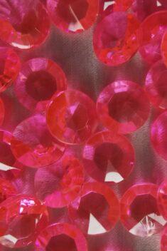 Dekoračné diamanty ružové 12mm - evkakvety-eshop.eu
