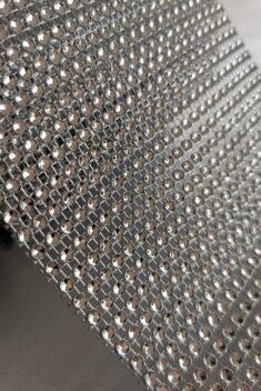 Diamantový pás, 12cm - strieborný - evkakvety-eshop.eu