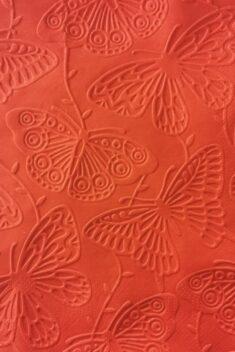 Reliéfne servítky červené - Red 33x33cm - evkakvety-eshop.eu
