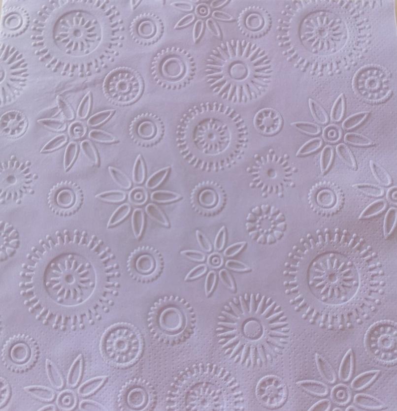 Reliéfne servítky levandulové - Lavender 33x33cm - evkakvety-eshop.eu