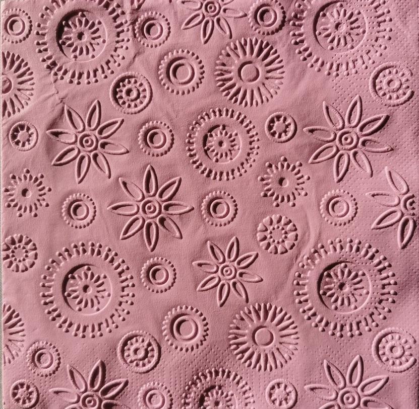 Reliéfne servítky ružovofialové – Spring Lilac 33x33cm – evkakvety-eshop.eu