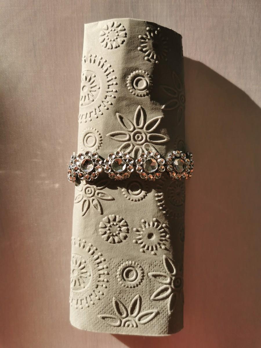 Reliéfne servítky sivé - Grey 33x33cm - evkakvety-eshop.eu