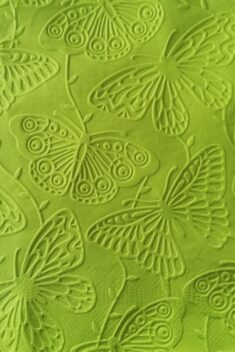 Reliéfne servítky trávovozelené - Grass Green 33x33cm - evkakvety-eshop.eu