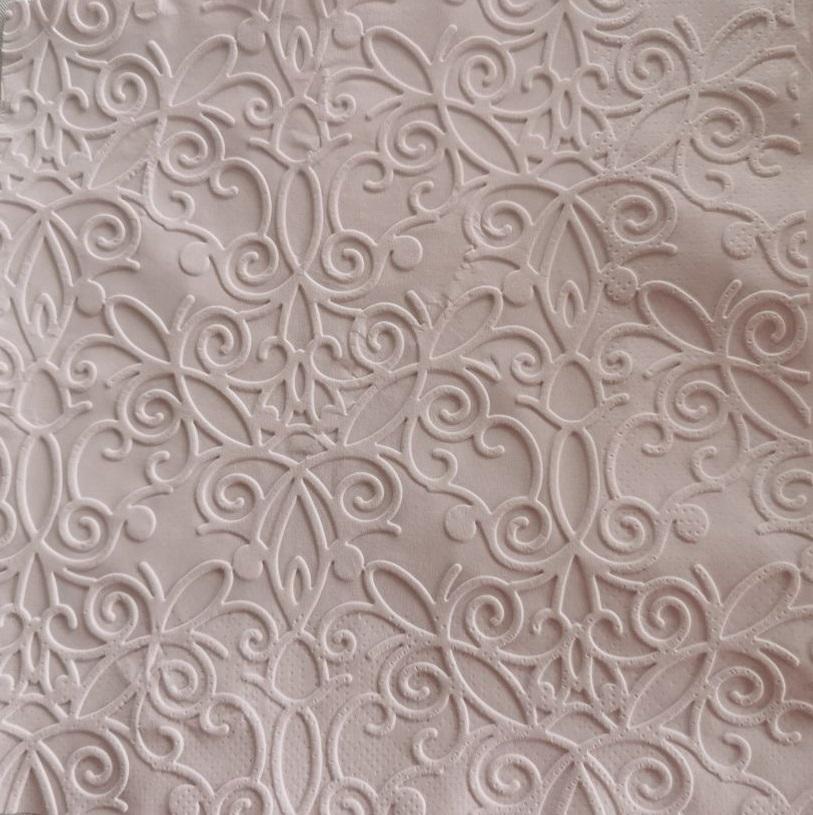 Reliéfne servítky svetlofialové – Pale Lilac 33x33cm – evkakvety-eshop.eu